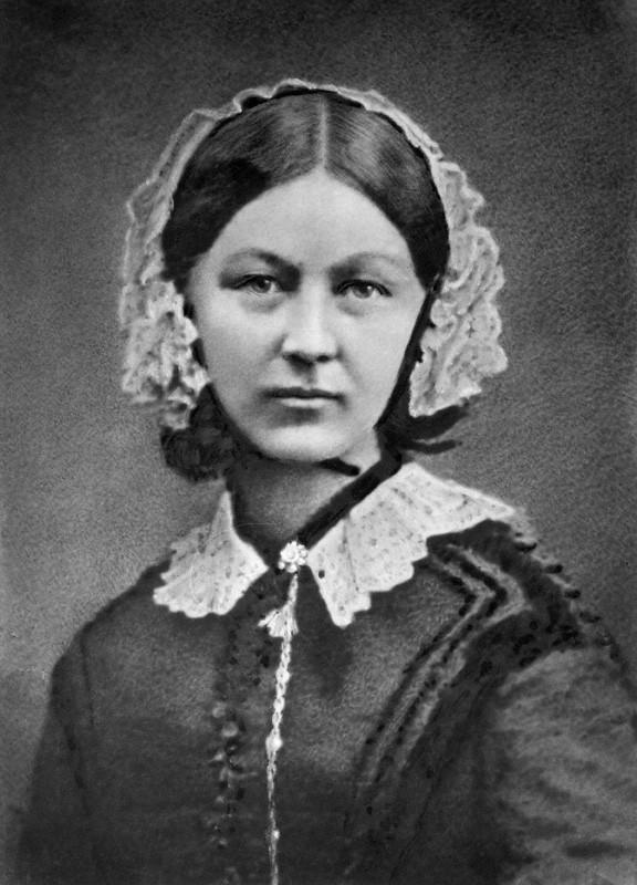 NPG x82368; Florence Nightingale by Henry Hering, copied by  Elliott & Fry