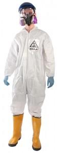 Disfraz de enfermero antiébola, que comercializa Brands on Sale por 79,99 dólares.