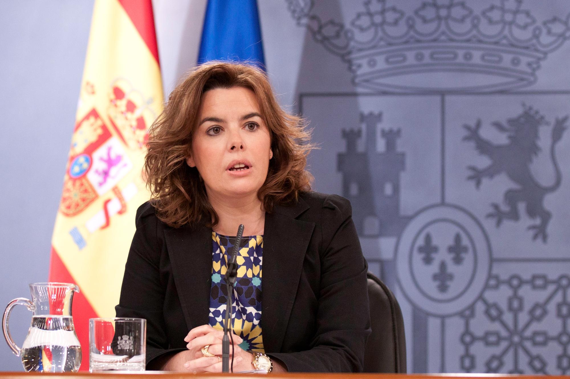 Sáenz de Santamaría presidirá un comité especial para gestionar la crisis del virus del ébola