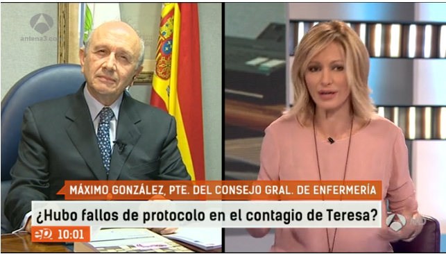"""González Jurado: """"Digan lo que digan, la formación a los profesionales no se hizo bien"""""""