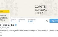 El Gobierno crea una cuenta oficial en Twitter sobre el ébola en España