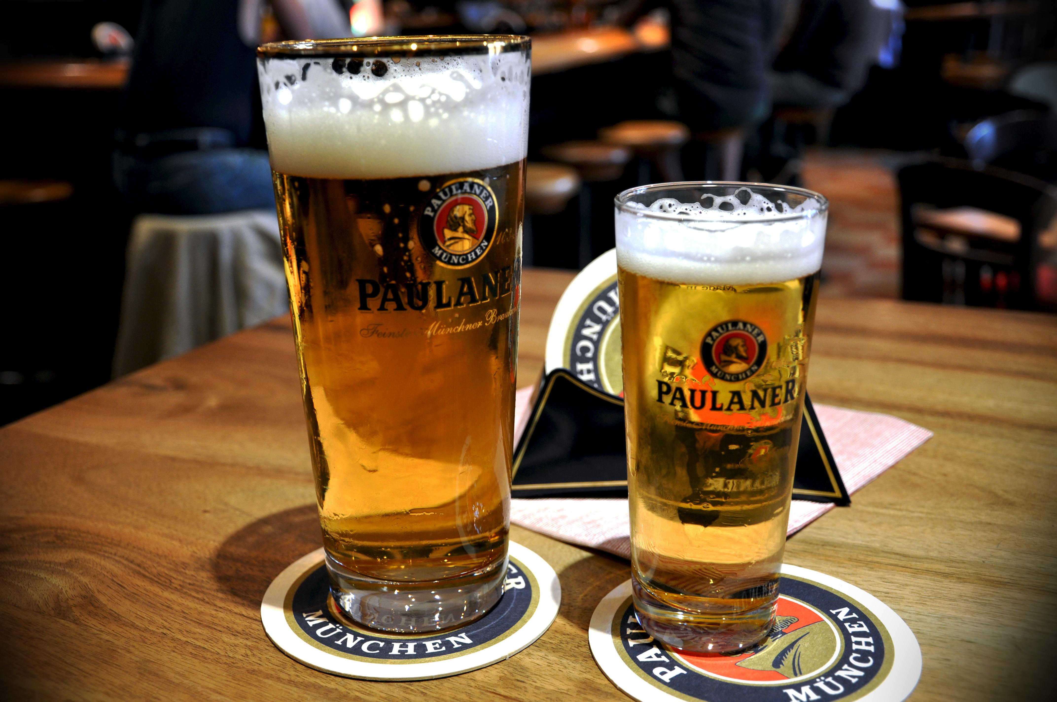 En Múnich se fabrica la famosa cerveza Paulaner