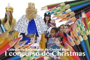 Cartel concurso de christmas 2014 en Ciudad Real.