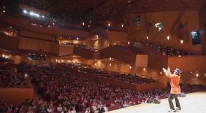 Espectáculo en el Palacio Euskalduna (Vizcaya).