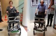 Indra prueba un andador inteligente para facilitar la movilidad a los mayores