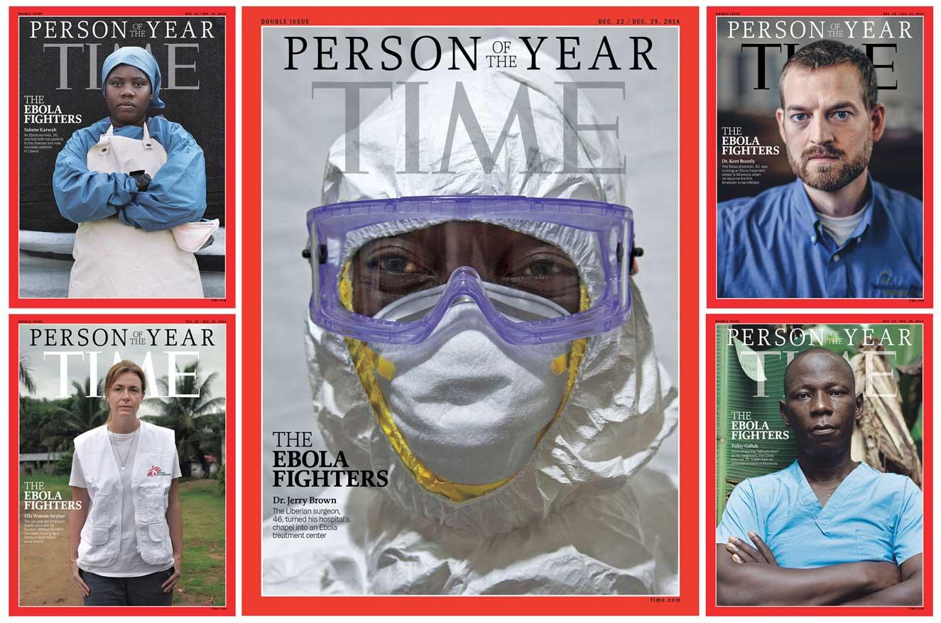 Los enfermeros y médicos que luchan contra el ébola, personajes del año para la revista Time