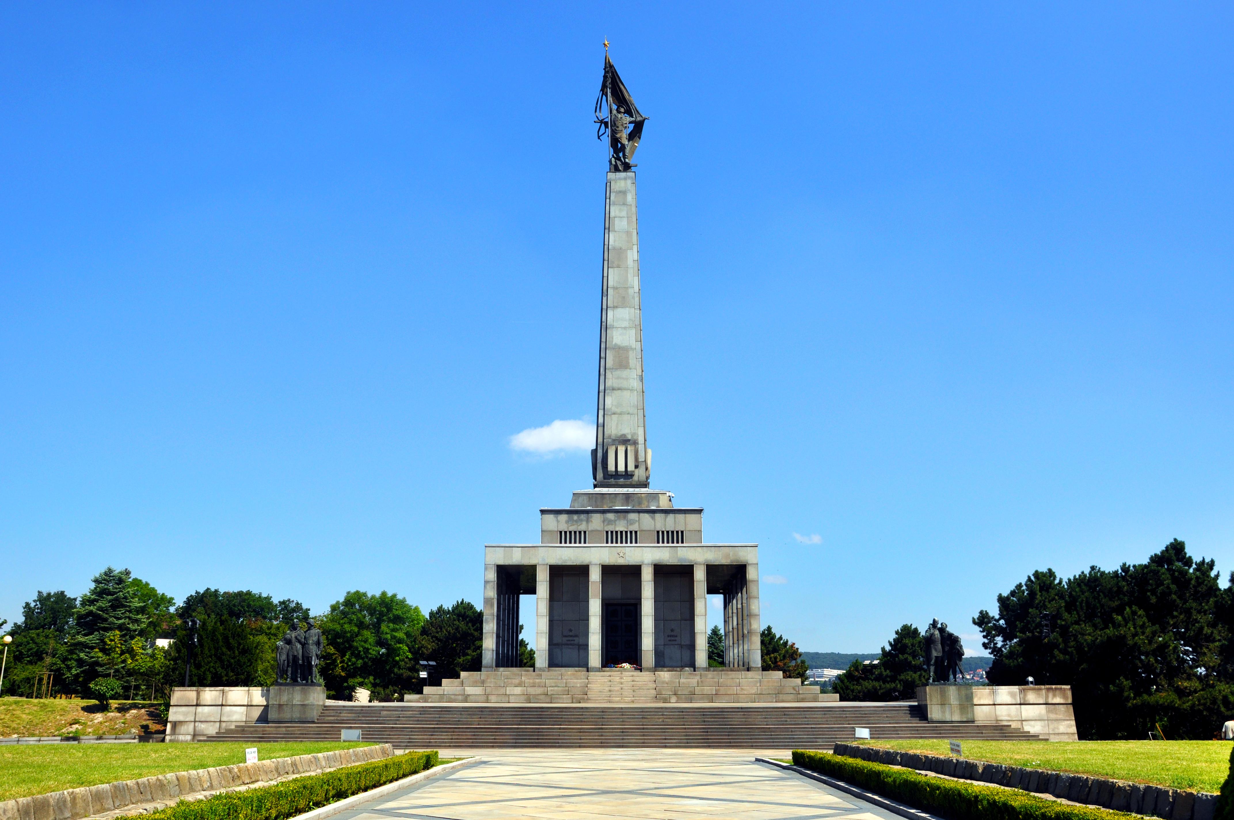Slavin, monumento comunista