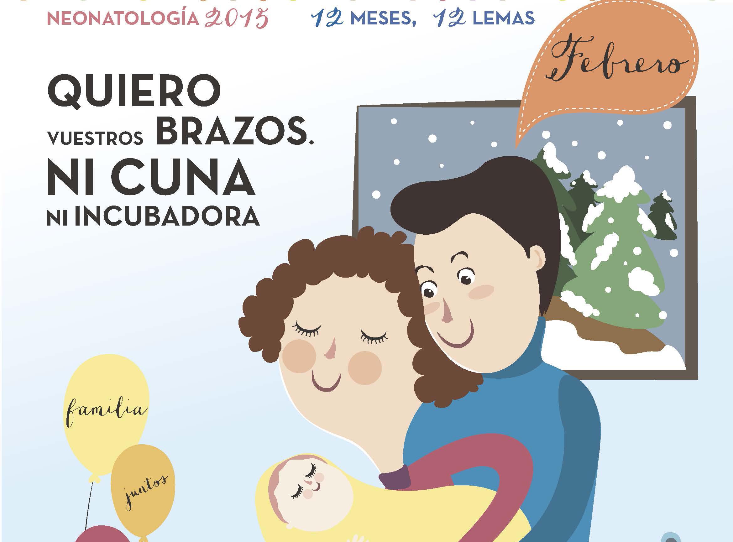Neonatología del Hospital 12 de Octubre emprende la campaña