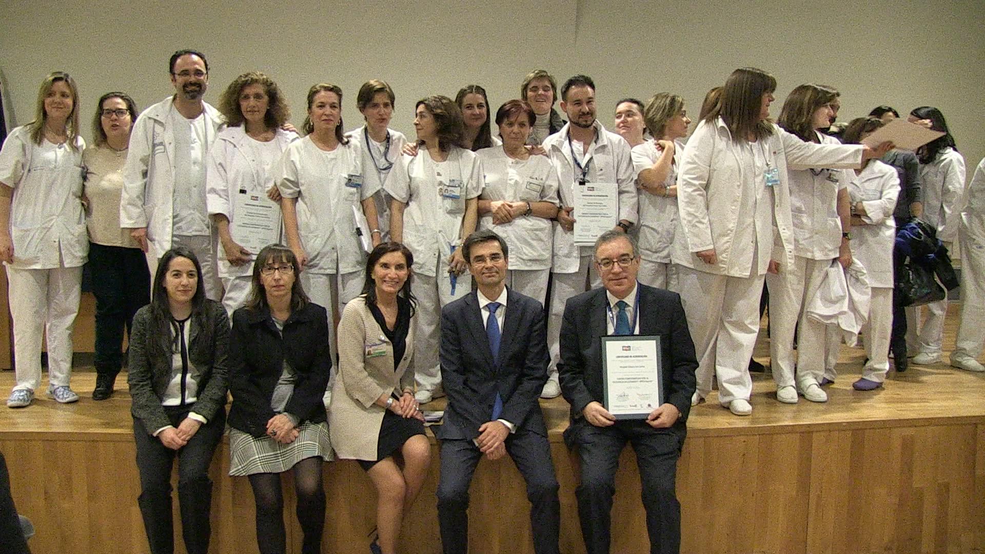 El Clínico San Carlos, primer hospital de Madrid acreditado como Centro Comprometido con la Excelencia en Cuidados