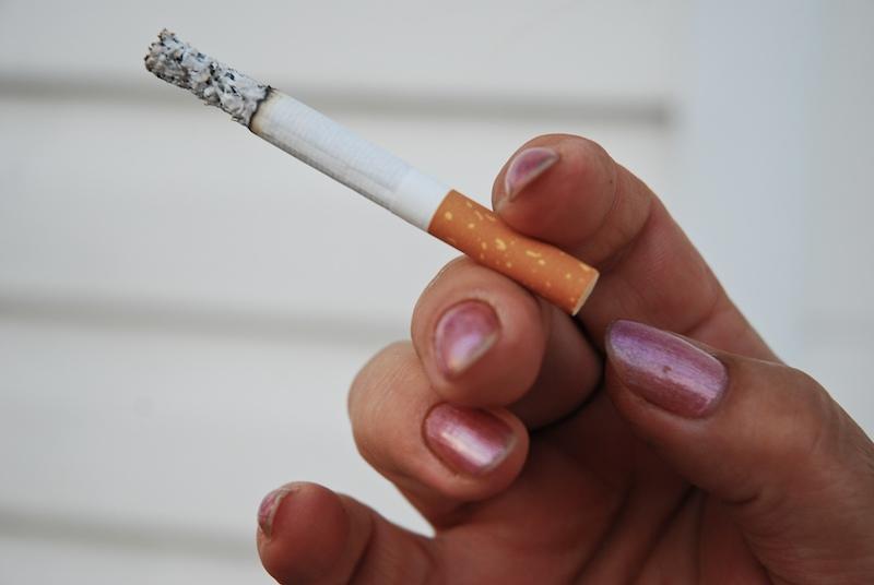 diabetes inducida por fumar