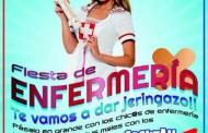 """La enfermería denuncia la imagen """"denigrante"""" de la profesión que difundió el cartel de una fiesta en Ciudad Real"""