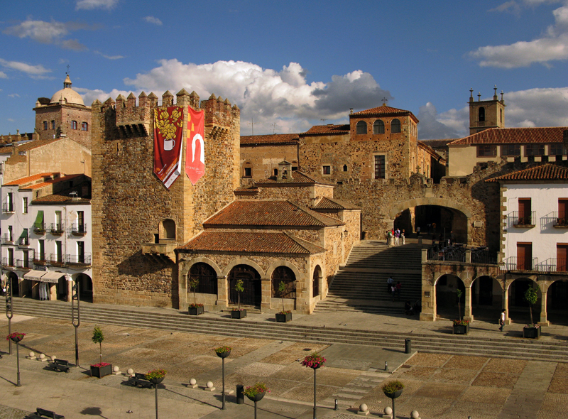 Plaza Mayor / Imagen: Ayto. de Cáceres