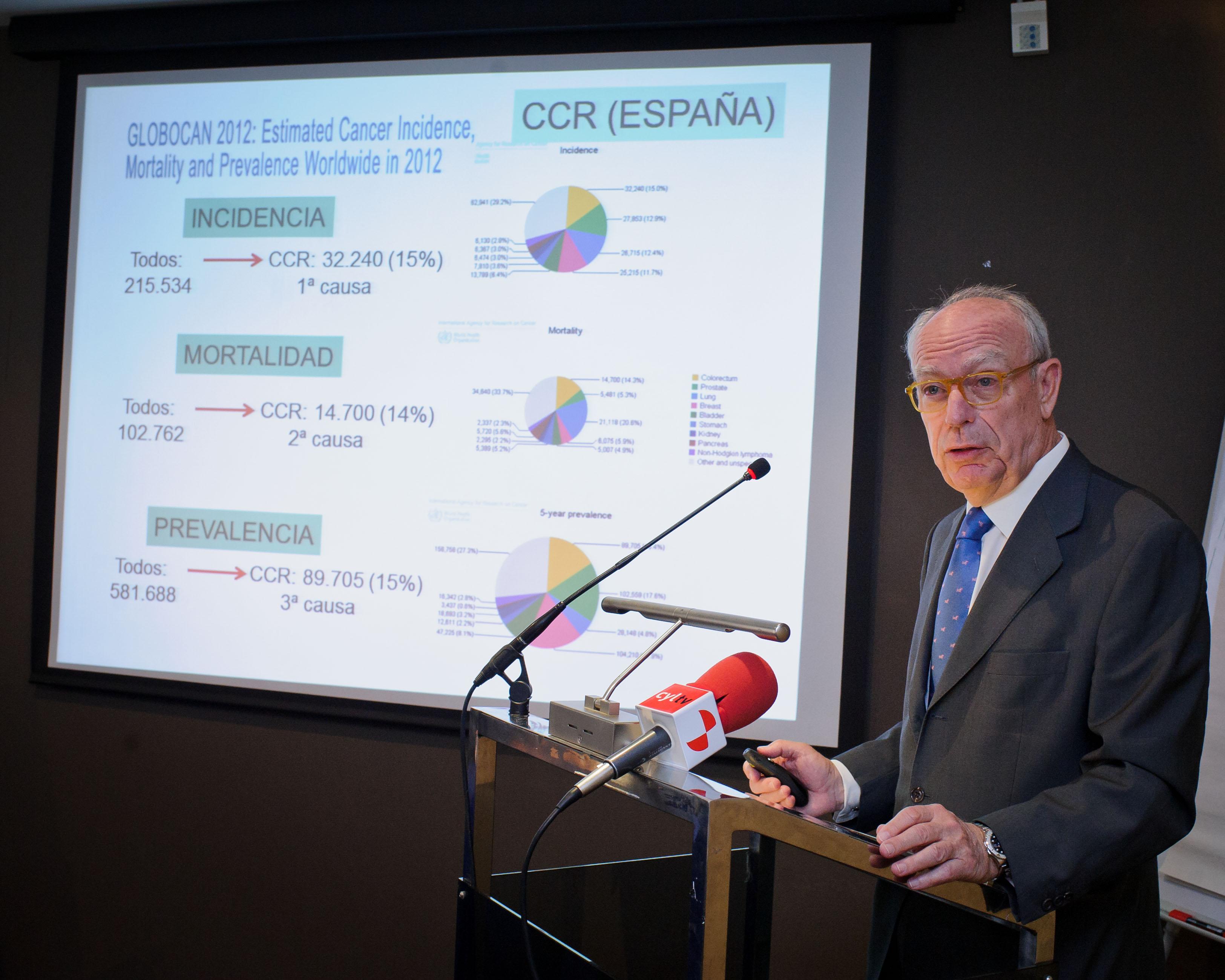 Disponible en España un nuevo tratamiento para el cáncer colorrectal metastásico