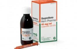 Sanidad retira del mercado un lote de ibuprofeno de Kern Pharma