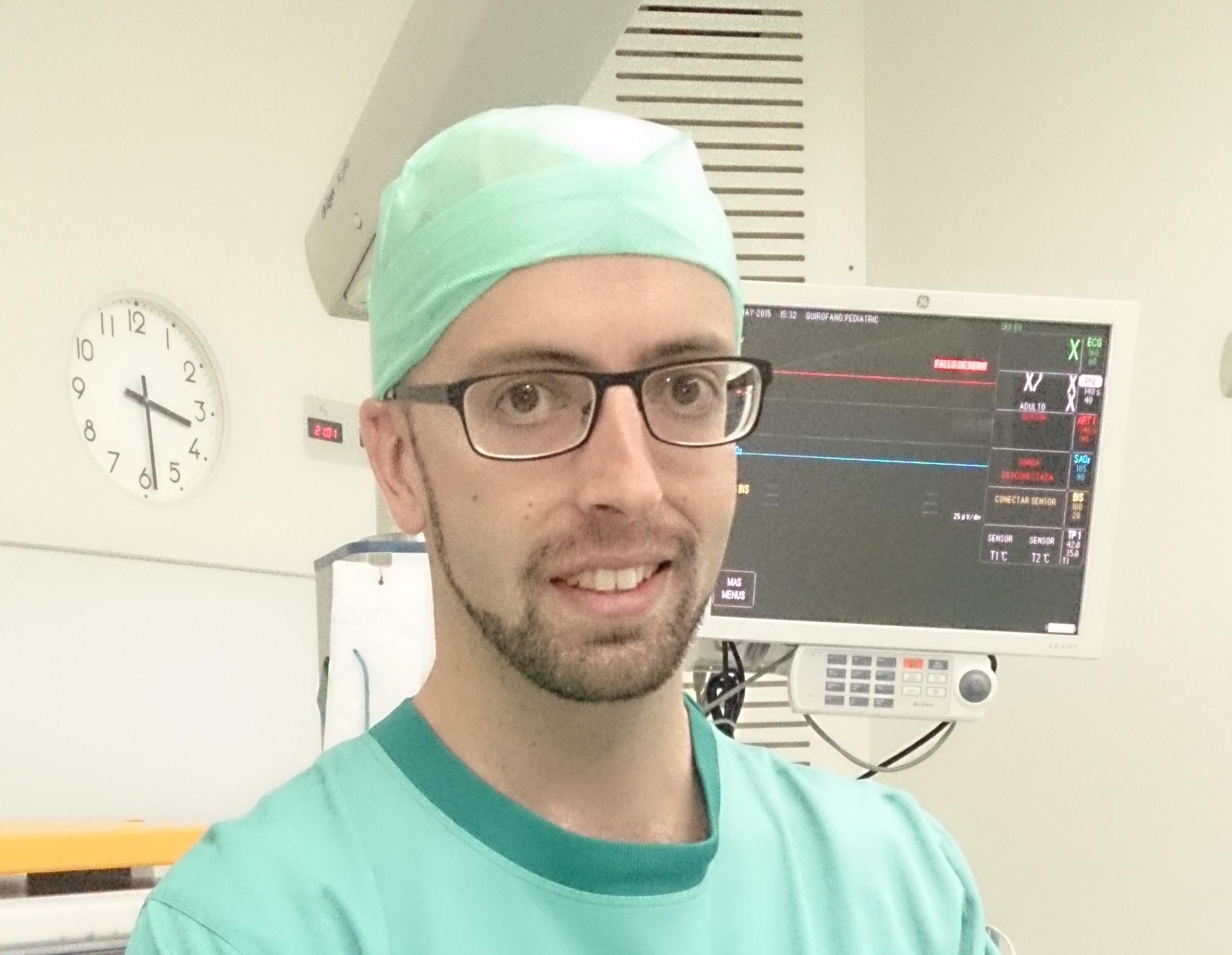 """Andrés Aristayeta, Ciudadanos: """"Es una forma de mostrar que los enfermeros tenemos capacidad de gestión"""""""