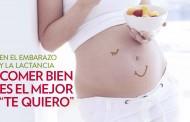 """""""Estar embarazada no significa comer por dos"""""""