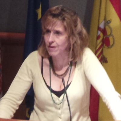 La Dra. Enfermera Nieves Lafuente, directora de Cuidados de la Junta de Andalucía