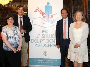 De izquierda a derecha: Carmen Aleix, José María Lobos, Jaime Masjuan y Cristina Avendaño.
