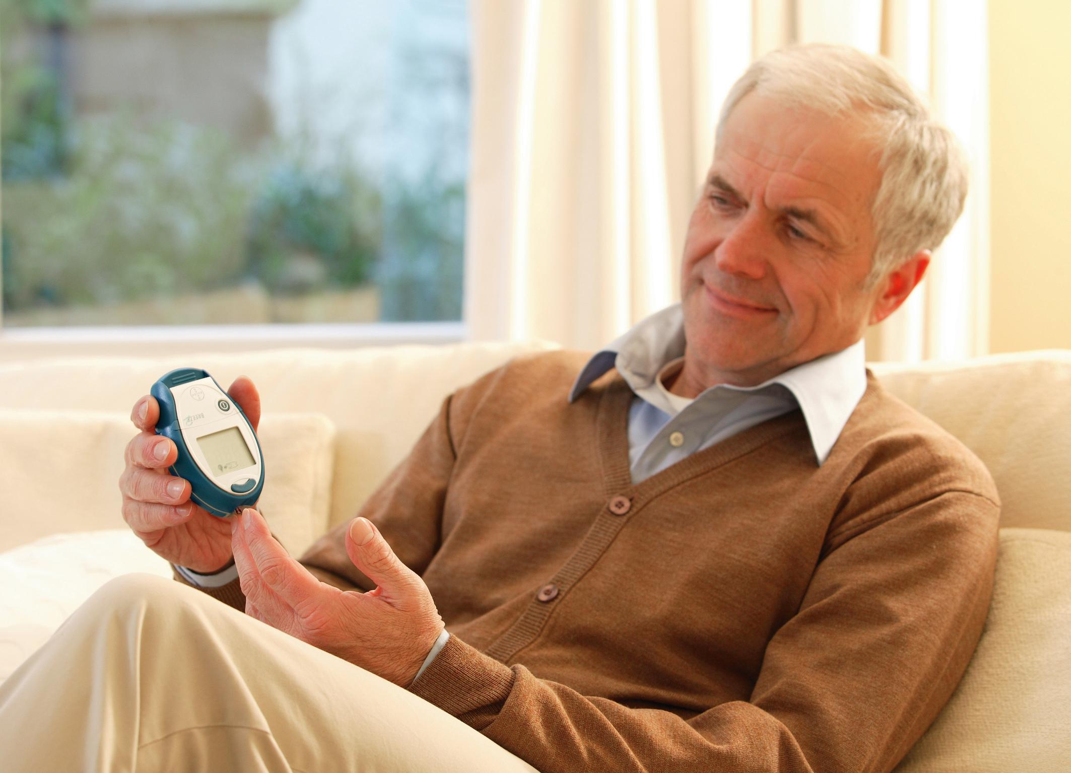 Las parejas de los pacientes con diabetes padecen
