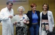El Hospital Fundación Alcorcón rinde homenaje a sus donantes de sangre más veteranos