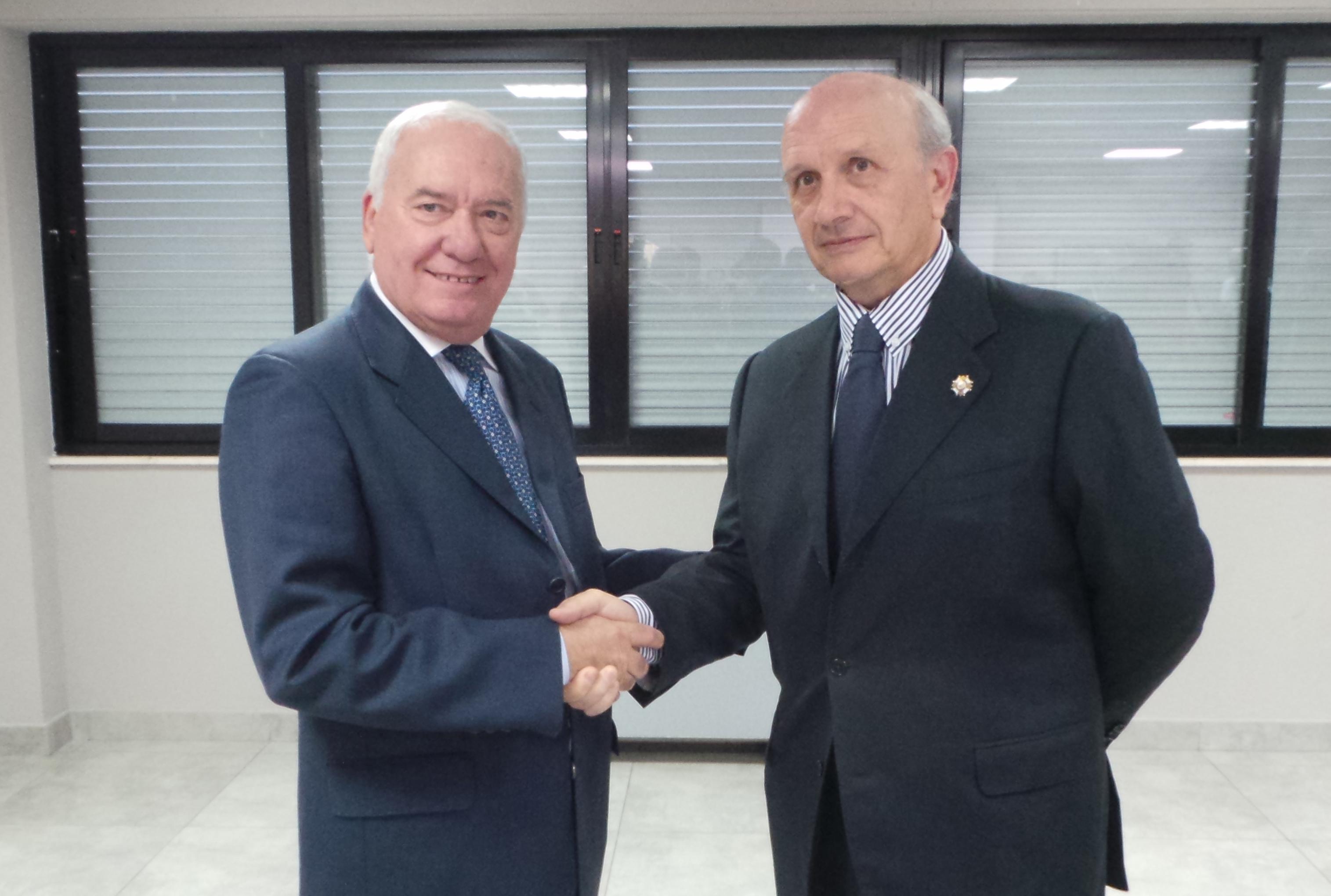 Florentino Pérez Raya y Máximo González Jurado
