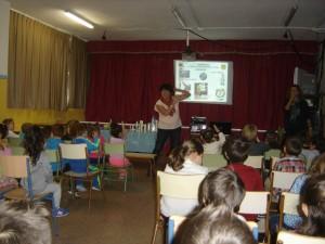 Este curso escolar se han impartido 136 talleres en 16 centros educativos.