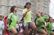 Una milla solidaria en Santander para niños con enfermedades neuromusculares