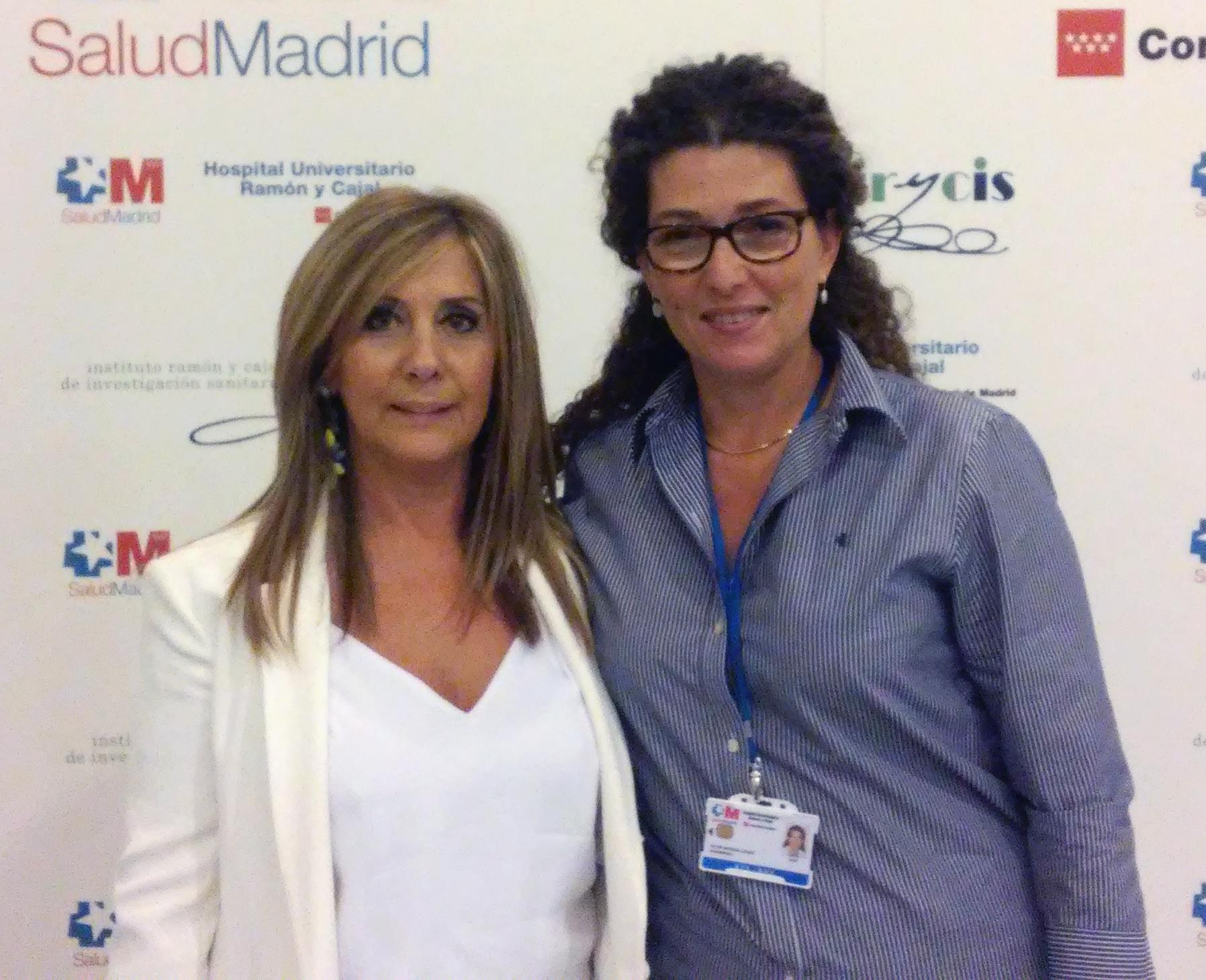 Azucena Marzo y Olga Salcedo, enfermeras integrantes de la Unidad de Micropigmentación