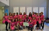 Pacientes de cáncer de mama del Hospital de La Princesa realizan el Camino de Santiago acompañadas por sanitarios