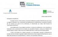 """Carta a los 274.000 enfermeros para informarles de su situación legal tras la """"traición"""" del Gobierno del PP"""