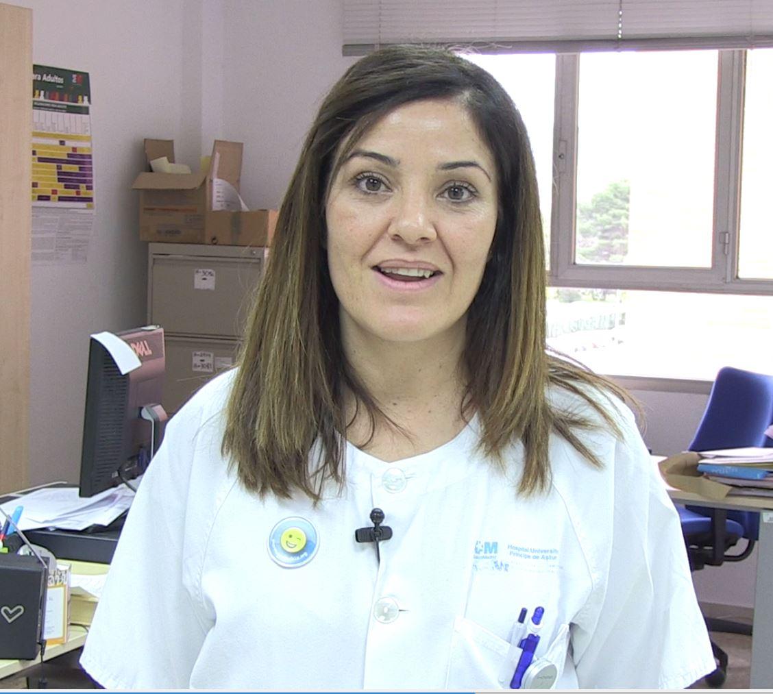 Maria Luisa Rodriguez Navas – Enfermera del Hospital Príncipe de Asturias Y colaboradora con la campaña