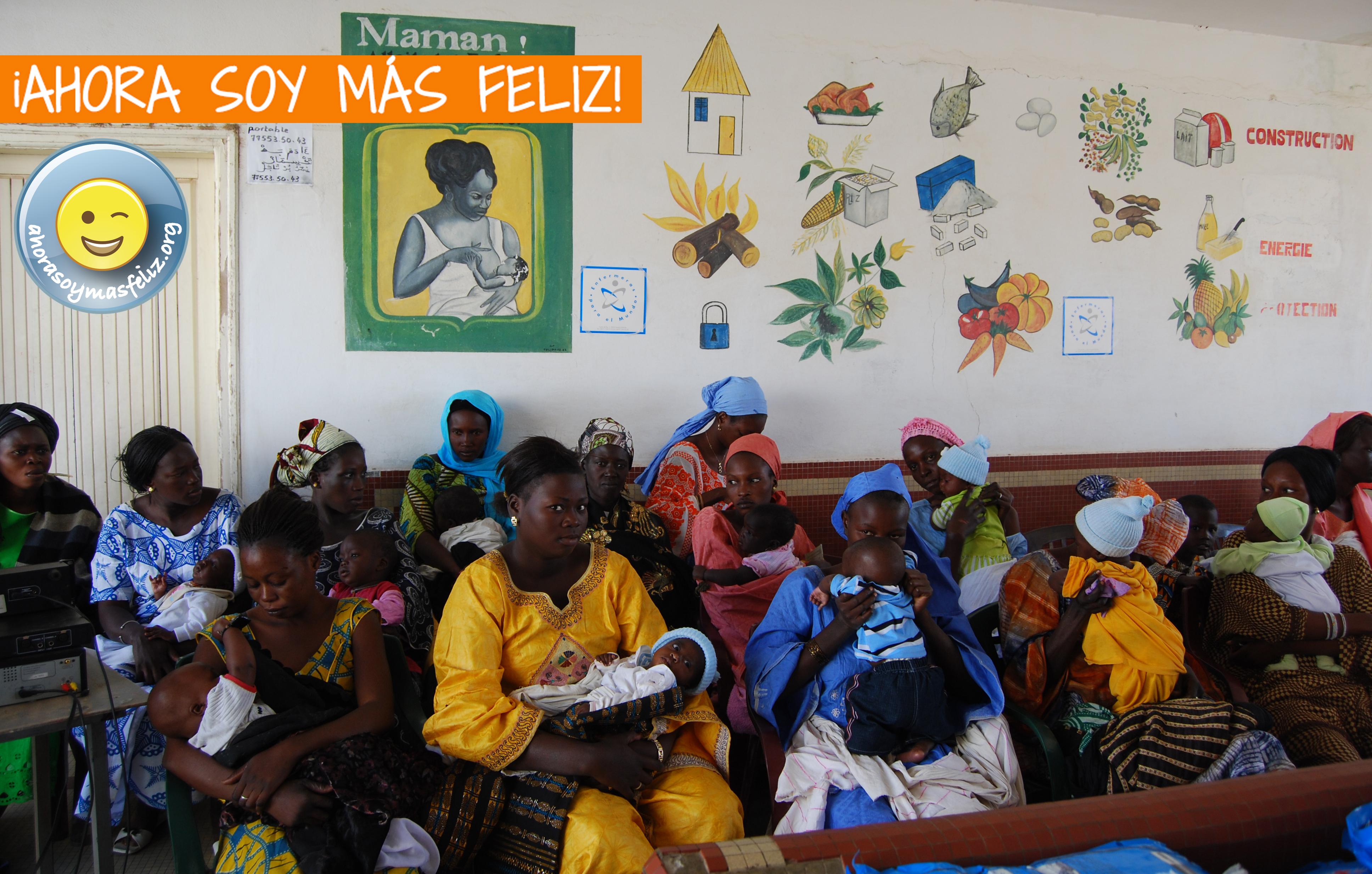 """""""Ahora soy más feliz"""" la nueva campaña de Enfermeras Para el Mundo"""