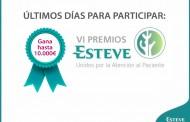 Últimos días para participar en la VI edición de los Premios Esteve