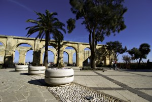 Malta - Valletta Upper Barrakka by Clive Vella