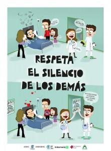 Cartel Sanidad sin ruido