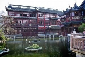 Yuyuan garden, en el centro de Shanghái. Imagen: David Cubero Gimeno