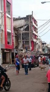 Con sus viviendas destrozadas la población no sabe a dónde acudir