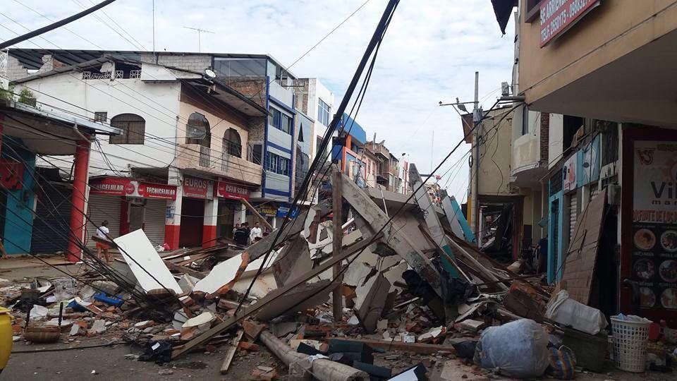 Enfermeras Para el Mundo presenta un plan de ayuda para el terremoto de Ecuador