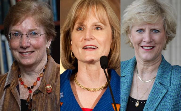 Linda Aiken, Mary Wakefield y Leslie Mancuso