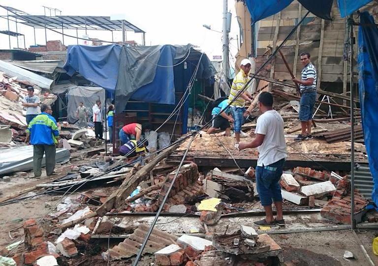 Una enfermera cántabra, desaparecida en el terremoto de Ecuador