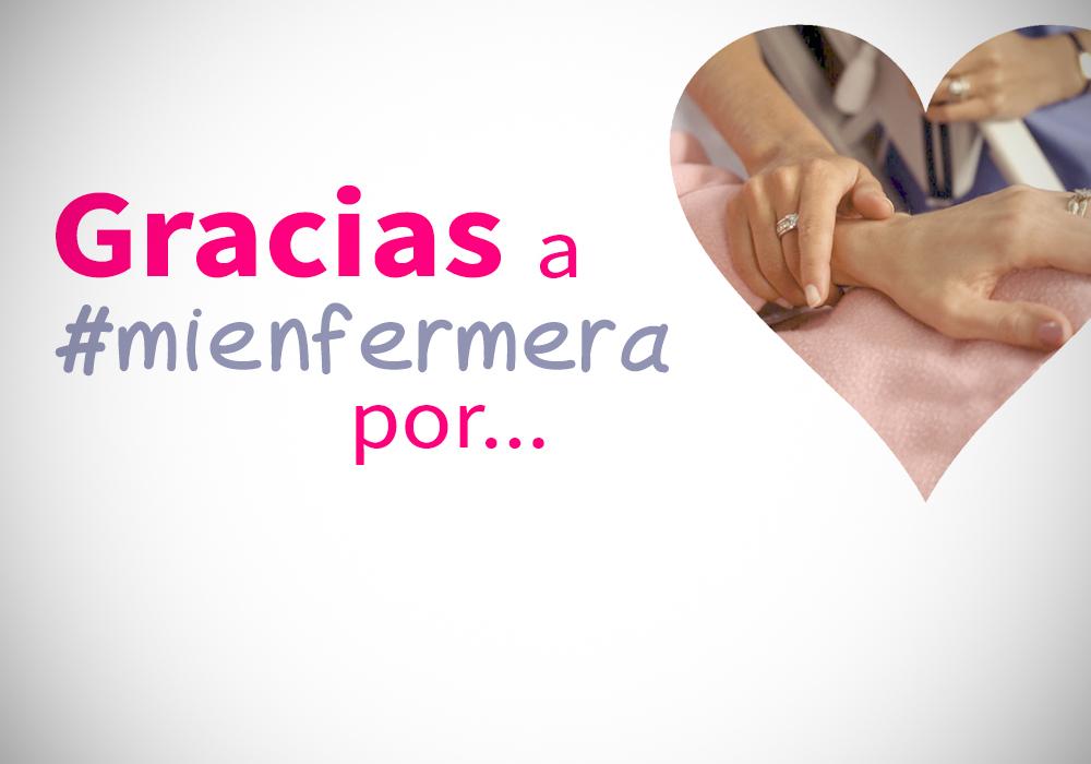 Una campaña quiere agradecer la labor de #mienfermera