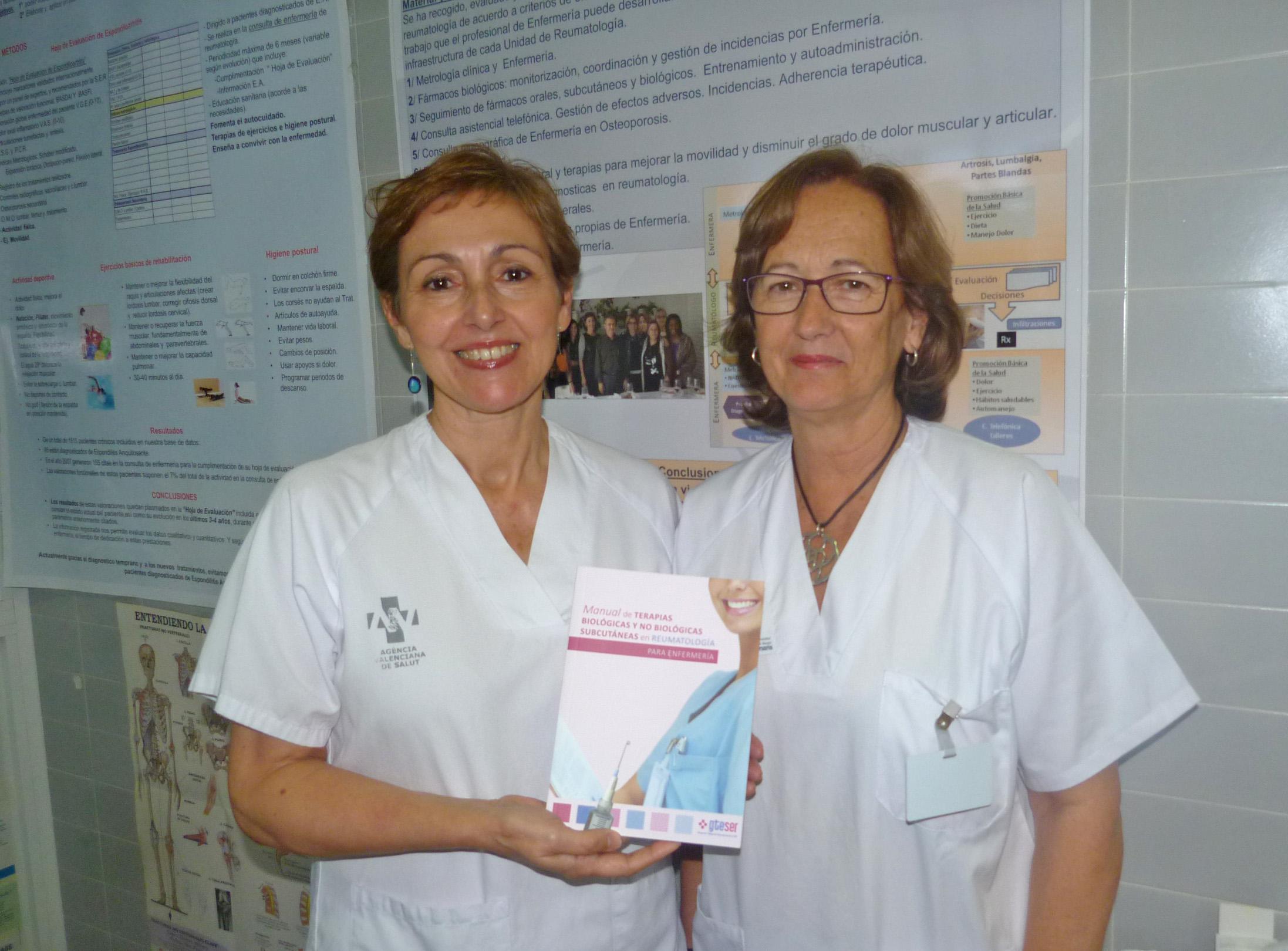Enfermeras elaboran el primer manual sobre terapias subcutáneas en Reumatología de España