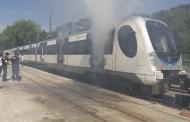 Un espectacular simulacro de un accidente de tren en Guipúzcoa