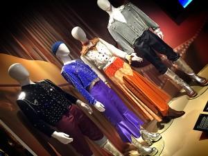 Los vestidos que lucieron los integrantes de ABBA en el Festival de Eurovisión de 1974. Imagen: David Cubero