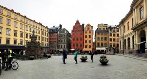 Plaza de Stortorget (Estocolmo). Imagen: David Cubero
