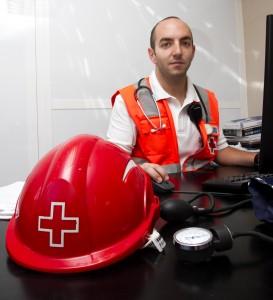 Roberto Fernández, enfermero en las playas de Valencia