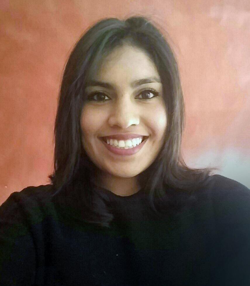 Gianina Villalobos, enfermera autora del trabajo