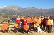 Una patrulla canina de rescate