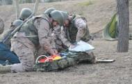 Los enfermeros militares, a la espera de la prueba de capacitación para la especialidad Médico Quirúrgica
