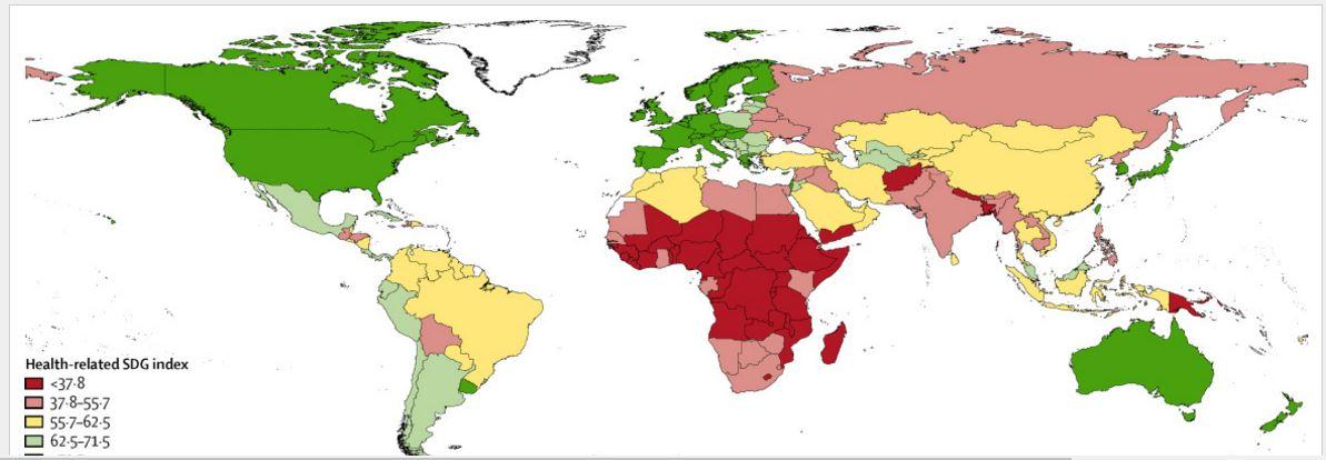 España ocupa el séptimo puesto a nivel mundial en indicadores de salud